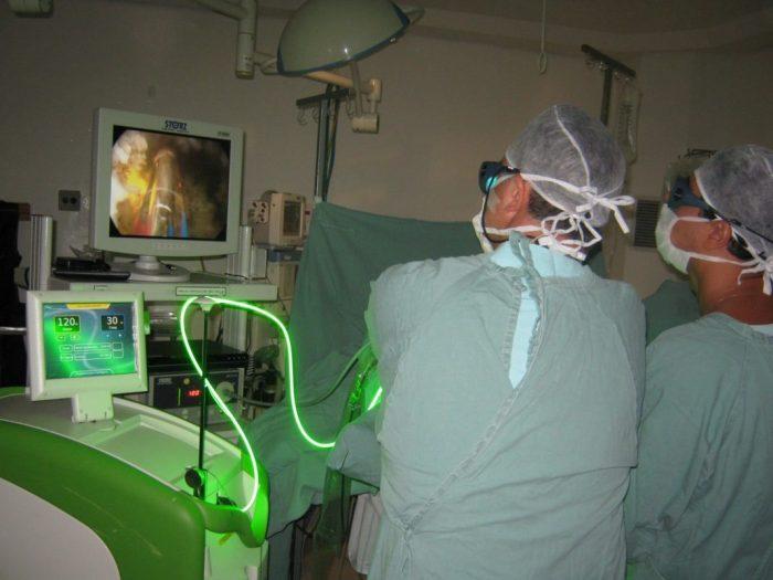лечение лазером простатита
