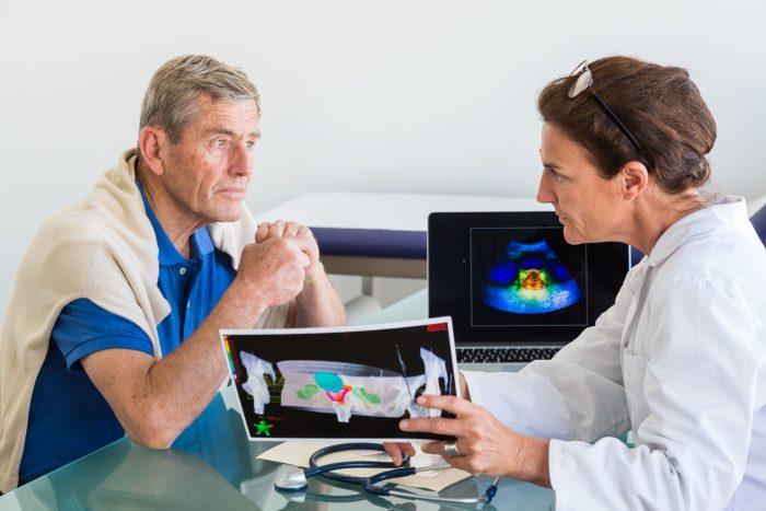 ультразвуковой анализ предстательной железы