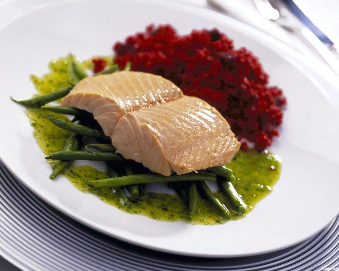 нежирное рыбное мясо