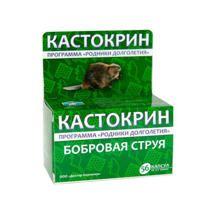 лечебное действие бобровой струи