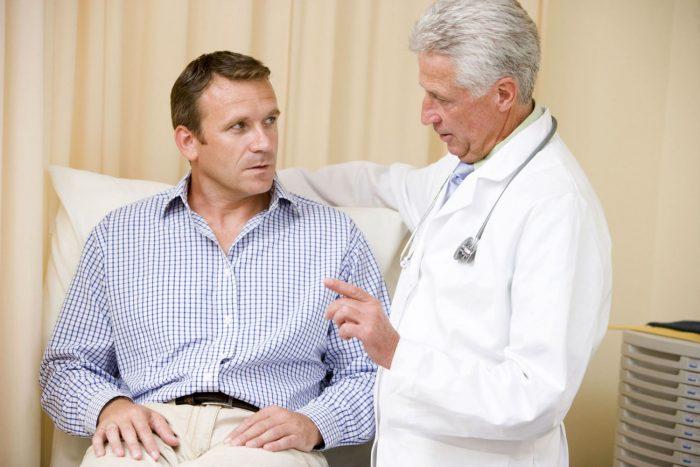 пациента должен осмотреть уролог