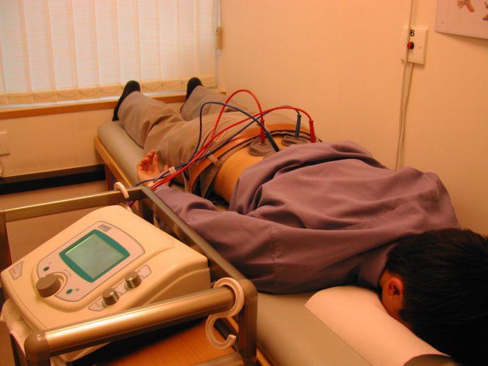 пациенту проводятся физпроцедуры