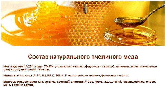 состав пчелиного меда