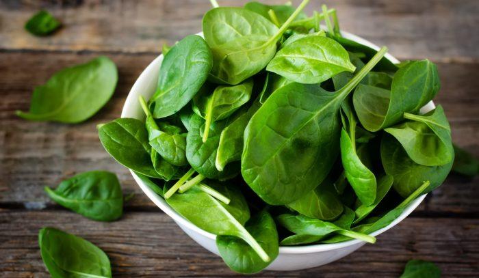 калорийность шпината