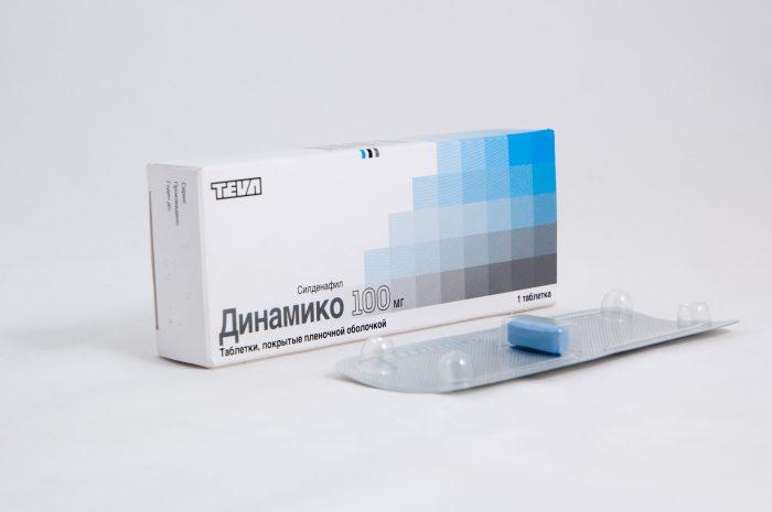 таблетки динамико