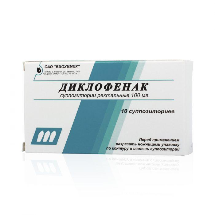 диклофенак от простатита