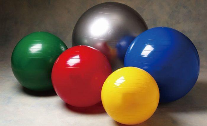 виды мячей для фитбола