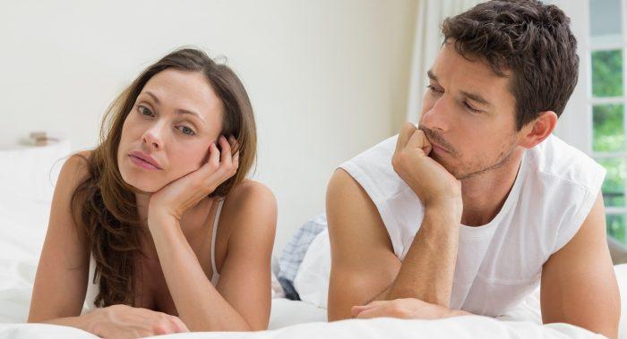 снижение качества сексуальной жизни