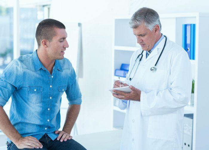 диагноз ставится на основе жалоб пациента