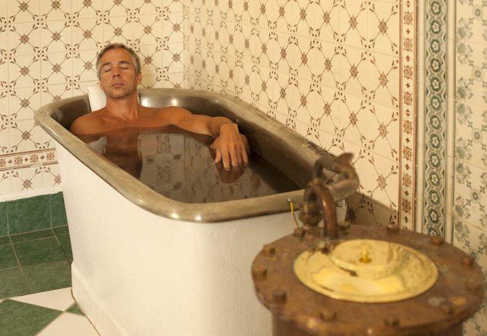 ванны с травой