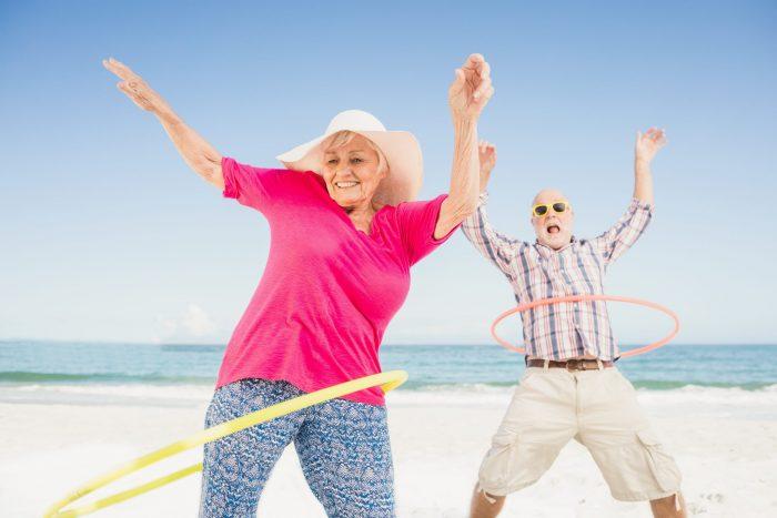 упражнения для похудения живота с обручем