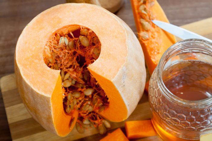лечебная паста из меда и семени тыквы