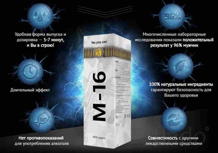 спрей М-16