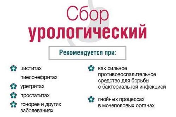Урологический сбор № 1 Дергачева