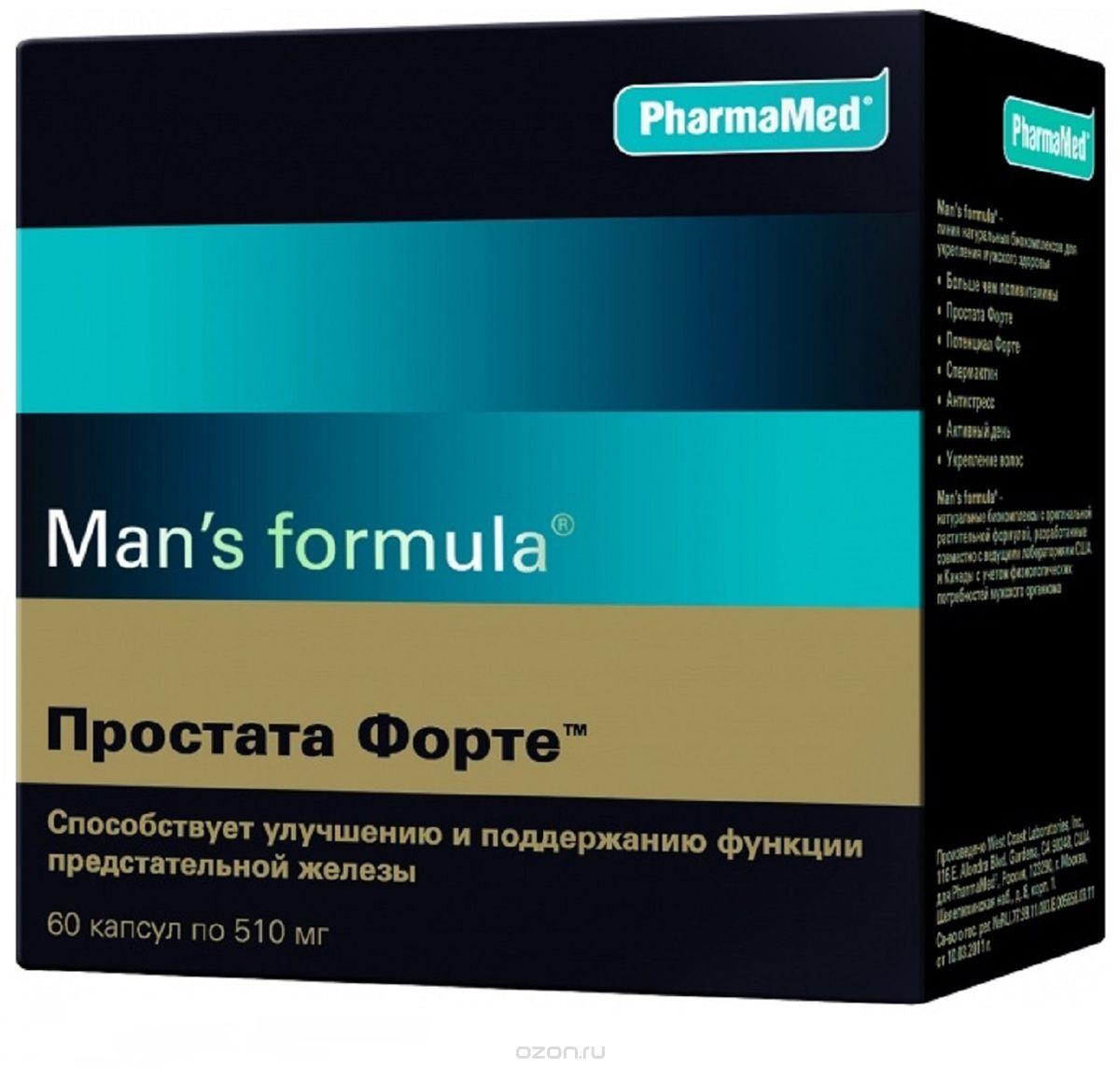 Менс формула простата форте капсул n60