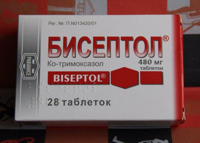 бисептол применение в урологии