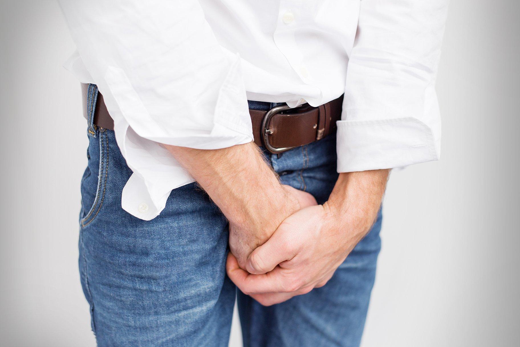 После мочеиспускания выделяется моча каплями у мужчин