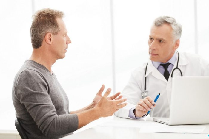 обратиться за помощью к врачу