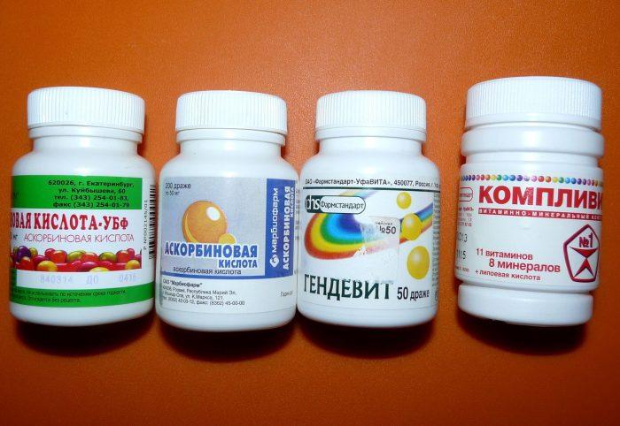 поливитаминные комплексы