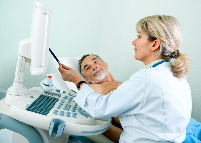 ультразвуковое исследование мужской железы