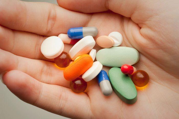 антибактериальные таблетки