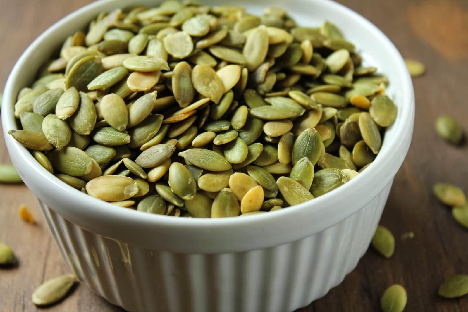 Рецепты из тыквенных семечек для усиления потенции