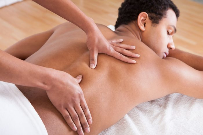 массаж для повышения потенции у мужчин