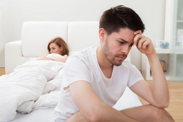 Быстро падает член во время секса