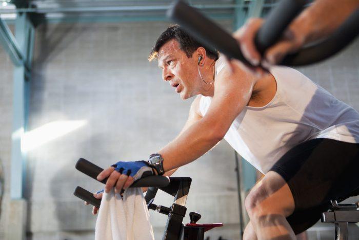 интенсивные занятия спортом