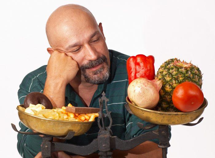 питание для мужчин