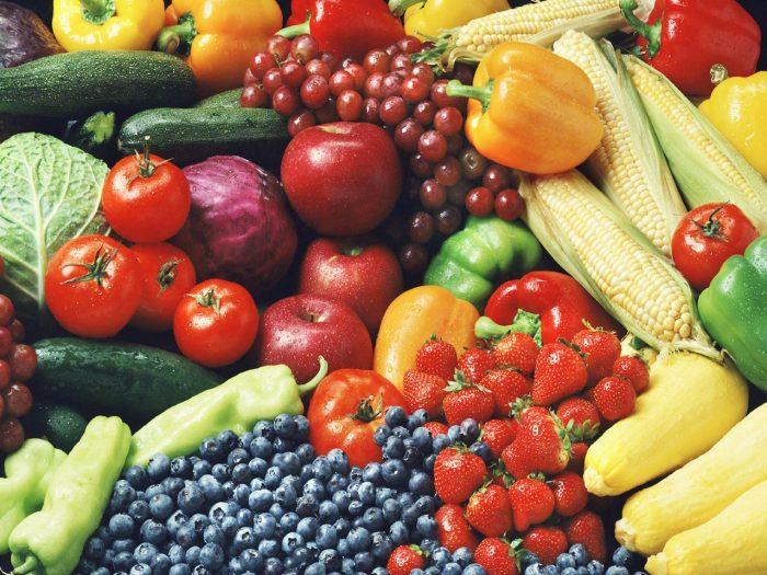 овощи и фрукты, ягоды