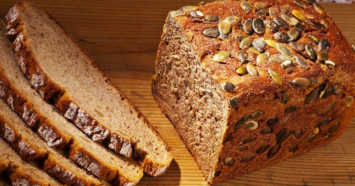 домашний хлеб с тыквенными семечками