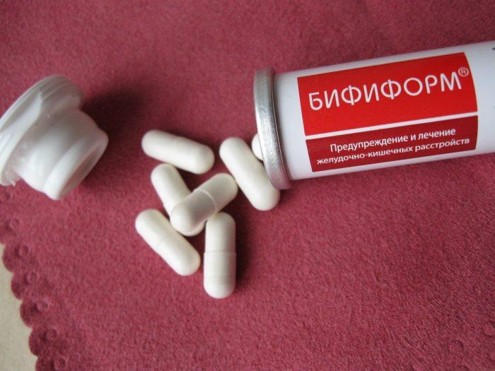 применение пробиотиков